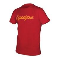 Camiseta Manga Corta Endura Equipe Carbon - Rojo