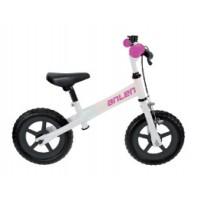 "Bicicleta Infantil M-WAVE Sin pedales / 12"" / Freno Delantero - Blanco"