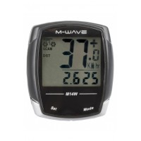 Cuentakilómetros M-WAVE M14W / Inalámbrico / 14 Func.