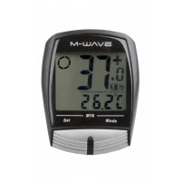 Cuentakilómetros M-WAVE M16 / Inalámbrico / 16 Func.