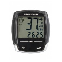 Cuentakilómetros M-WAVE M12 / 12 Func.