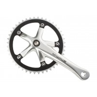 Juego Bielas M-WAVE Single Speed / Aluminio CNC / 46T