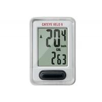 Cuentakilómetros Cateye Velo 9 (VL820) - Blanco