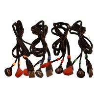 Juego de Cables COMPEX / 8 Pins-Snap