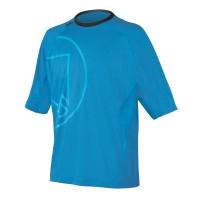 Endura camisa Burner II Lite Manga Corta Azul