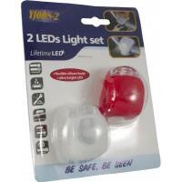 Piloto Delantero y Trasero de LED en Silicona