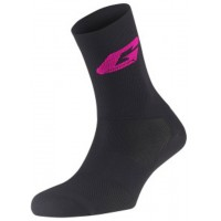 Calcetines GAERNE Professional Long socks - Negro Fucsia