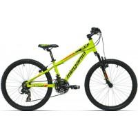 """Bicicleta de montaña Megamo - Open Junior Boy 24"""" - Amarillo"""