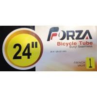 "Camara Forza 24"" Válvula presta (fina) 24x1 3/8"
