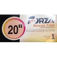 """Cámara de aire Forza 20"""" Válvula schrader (gruesa) 20x1.75-2.125"""