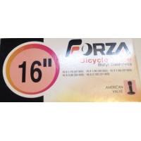 """Cámara de aire Forza 16"""" Válvula schrader (gruesa) 16x1.75-2.125"""