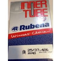 "Cámara de aire Rubena 20"" - Válvula schrader (gruesa) 40mm"