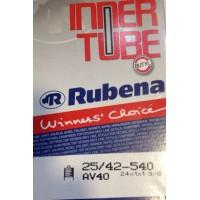 "Cámara de aire Rubena 24"" - Válvula schrader (gruesa) 40mm"