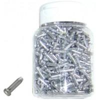 Bote de 500 finales de cable - Aluminio