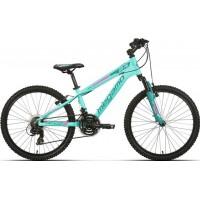 """Bicicleta de montaña Megamo - Open Junior Girl 24"""" - Verde"""