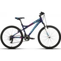"""Bicicleta de montaña Megamo - Open Replica Lady 26"""" - Azul"""