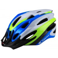 Casco GES Rocket - Azul/Blanco/Amarillo