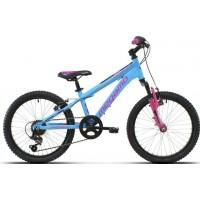 """Bicicleta de montaña Megamo - Open Junior Girl 20"""" - Azul"""