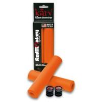 Puños de silicona RedMonkey Karv (XT) 6.5mm - Color naranja