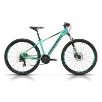"""Bicicleta de montaña Megamo - Natural 60 2019 - 27,5"""" Pulgadas - Verde"""