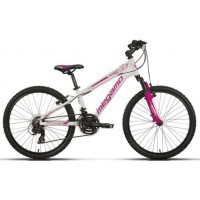 Bicicleta de montaña Megamo - Open Junior Girl 2019 - 24 Pulgadas - Blanca