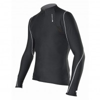 Maillot Largo Termico Endura Xtract Zip Neck - Negro