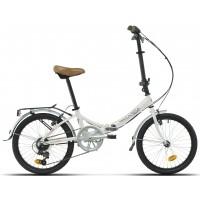 "Bicicleta plegable Paseo/Urbana Megamo - Zambra 2019 - 20"" Pulgadas -Blanca"