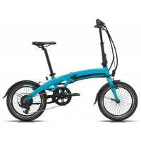 Bicicleta eléctrica Pleglable Megamo - Executive 2019 - 18 - Azul