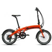 Bicicleta eléctrica Pleglable Megamo - Executive 2019 - 18 - Naranja