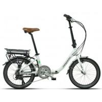 Bicicleta eléctrica Pleglable Megamo - Chip 3.0 2019 - 20 - Blanca