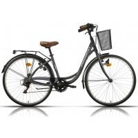 Bicicleta de paseo/city Megamo - Tamariu 2019 - Gris