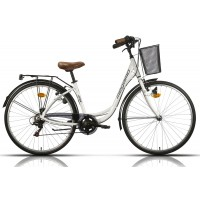 Bicicleta de paseo/city Megamo - Tamariu 2019 - Blanco