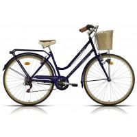 Bicicleta de paseo/city Megamo - Trivia 2019 - Azul oscuro