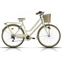 Bicicleta de paseo/city Megamo - Trivia 2019 - Beige