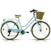 Bicicleta de paseo/city Megamo - Trivia 2019 - Azul