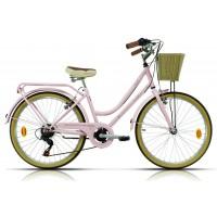 Bicicleta de paseo/city Megamo - Trivia 2019 - Rosa