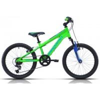 """Bicicleta de montaña Megamo - Open Junior Susp. Boy 20"""" - Verde"""