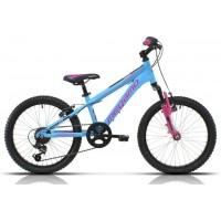 """Bicicleta de montaña Megamo - Open Junior Susp. Girl 20"""" - LightBlue"""