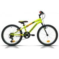 """Bicicleta de montaña Megamo - Open Junior Boy 20"""" - Amarilla"""