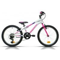 """Bicicleta de montaña Megamo - Open Junior Girl 20"""" - Blanca"""