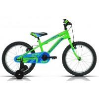"""Bicicleta de montaña Megamo - Kid Boy 18""""- Verde"""