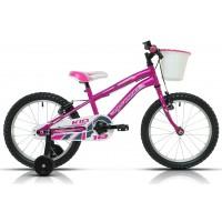 """Bicicleta de montaña Megamo - Kid Girl 18""""- Rosa"""