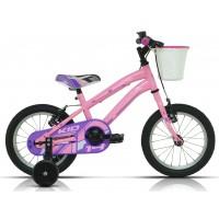 """Bicicleta de montaña Megamo - Kid Girl 14""""- Rosa"""