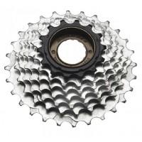 Piñon Sunrace Freewheel / 14-28T / 6 v. - Plata