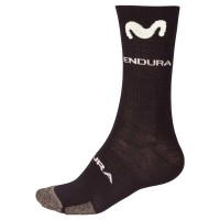 Calcetines Endura de invierno Movistar Team 2018- Negro