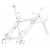 Patilla de Cambio BMC Teammachine SLR01 y SLR02 / Direct Mount / Shimano / 2018