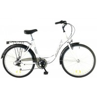 """Bicicleta de Paseo/Urbana AMAT Florida 26"""" / 1v. - Blanco"""