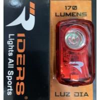 Luz roja trasera diurna Riders RD-170T - 170 lumens