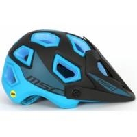 Casco enduro msc mips - Negro/Azul