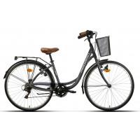 Bicicleta de paseo/city Megamo - Tamariu - Gris